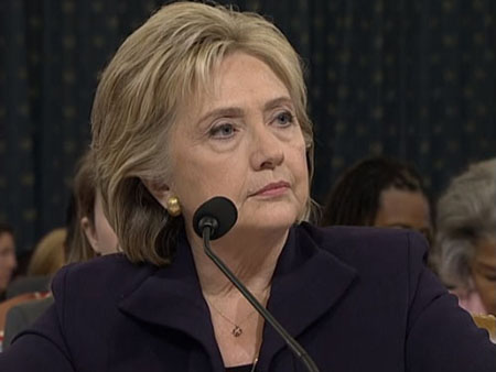 Clinton avoids blame: State Dept. found hundreds of email security violations but . . .