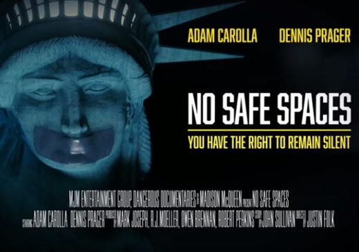 'No Safe Spaces': Documentary's campus tour exposes rampant censorship