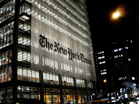 New York Times: 'Free speech is killing us'