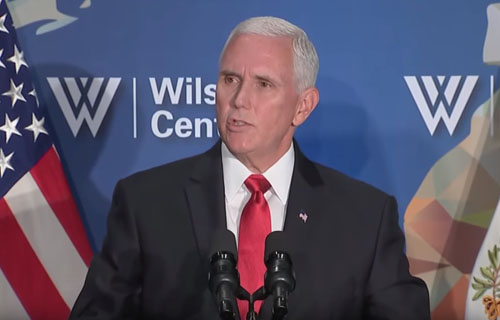 Pence slams NBA, 'multinational corporations': U.S. 'stands with' Hong Kong protesters