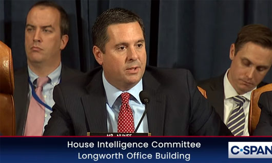 Opening statement by Rep. Devin Nunes: 'Carefully orchestrated media smear campaign'