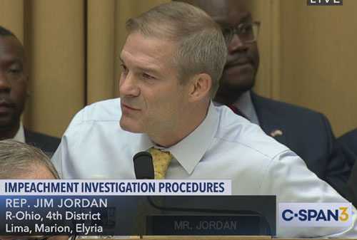 Hardball: Jordan may shift to Intelligence Committee for 'impeachment' hearings