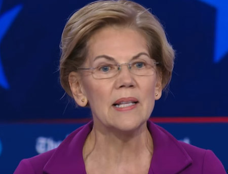 Warren would use taxpayers' money to tear down parts of border wall