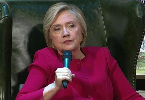 'In America, no one is above the law,' claims Hillary Clinton