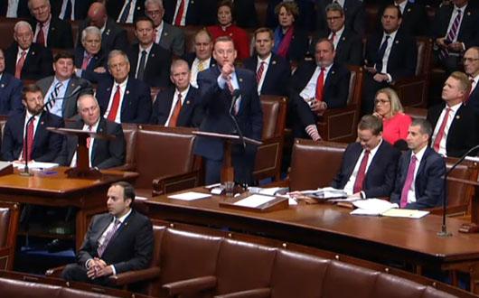 'Mob rule': Collins incinerates House Democrats