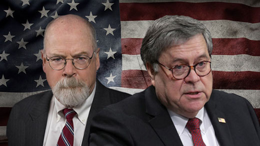 Barr, Durham targeting 'decades of establishment consistency, patterns, lifestyles'