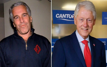 The Clinton-Epstein story deemed newsworthy  in UK