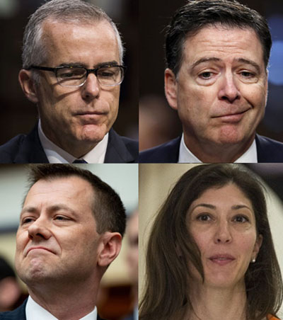 The under-reported FBI-DOJ scandals: Who's already been fired and why