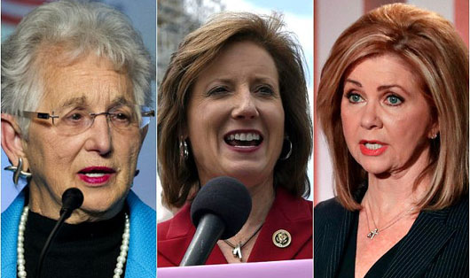 GREATEST HITS, 9: Three women in new Congress introduce bills to eliminate federal funding of abortions