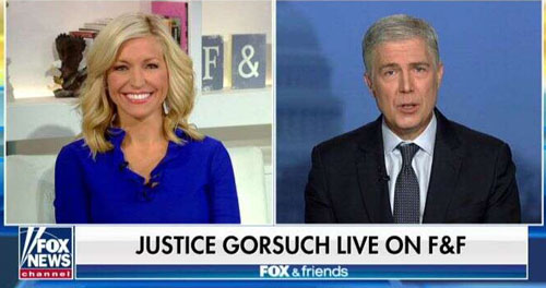 Justice Gorsuch says 'Merry Christmas' on TV and all hell breaks lose