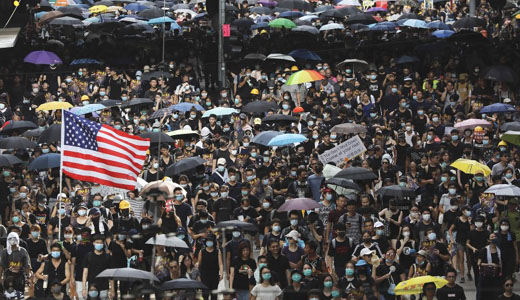 'Enthusiasm gap': Hong Kong demonstrators notice silence of the U.S. Left