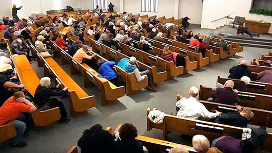'Miraculous': Heroes in the pews, concealed carry law credited in church shooting