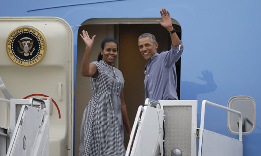 GREATEST HITS, 4: Secret Service finally releases Obama family's travel receipts: $105.66 million
