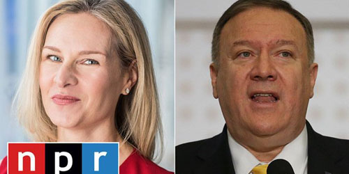 Levin on reporter who incurred Pompeo's wrath: Why does NPR still exist?