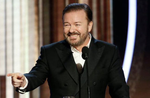 Fun continues: Comedian on a roll after lampooning Hollywood at awards ceremony