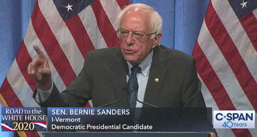 Marxist millionaire Sanders, king of campaign cash, leads war on system that created wealth