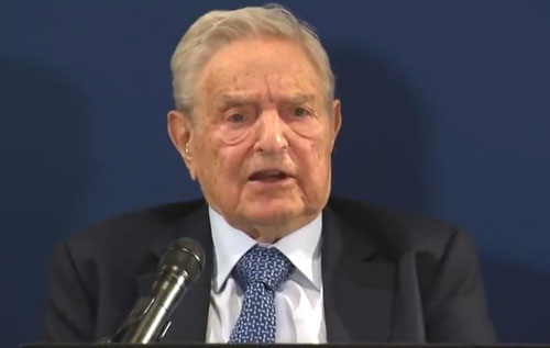 Soros sounds alarm to globalists in Davos: 'Fate of world' hinges on ousting Trump