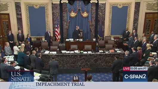 Impeachment burnout? Or will conspiracy to disrupt election continue?