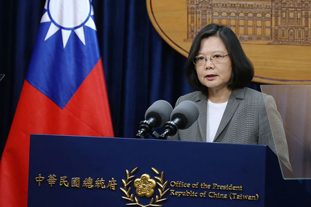 Taiwan's president infuriates China: Time to accept we are 'an independent country already'