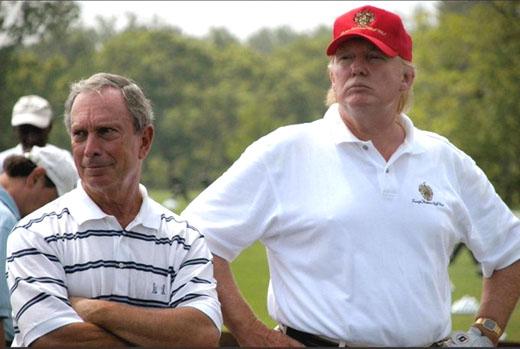 'Short hitter': Trump knocks 'Mini' Mike Bloomberg's golf game