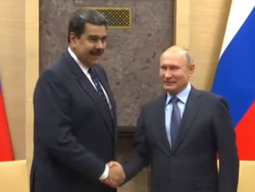 Trump lowers the boom on Russia over support to Venezuela