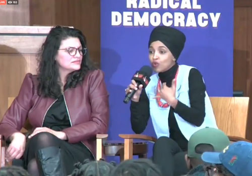 Ilhan Omar blames America for pretty much all of the world's ills