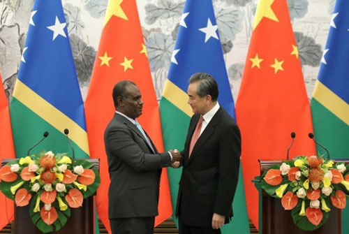 Chinese loan offer to Solomon Islands dwarfs Pacific nation's GDP