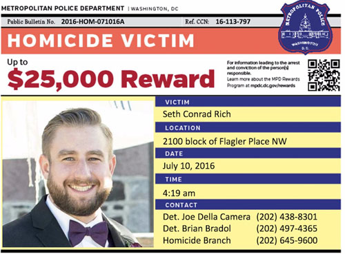 Judicial Watch sues FBI for records on murdered DNC staffer Seth Rich