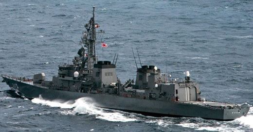 Japan's Abe explains rationale for deploying warship to Middle East