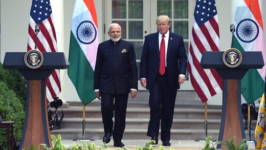 India visit seen building on key alliance amid Trump-era shift on China