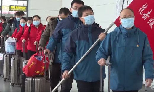 Chinese Communist Party conducts purge, tightens grip on Hong Kong as virus cases spike