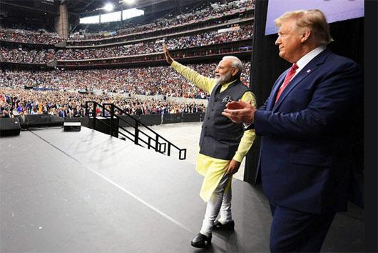 Trump visit marked India's dramatic post-democratic socialist economic boom