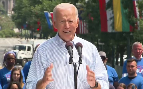 Limbaugh: Biden knew what he was doing when he didn't say 'God'