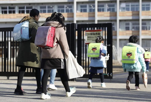 In northern Japan, life gradually returns to normal