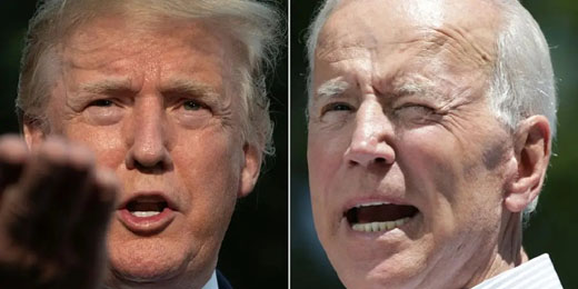 Trump robust while each day Biden reveals 'a little more senility'