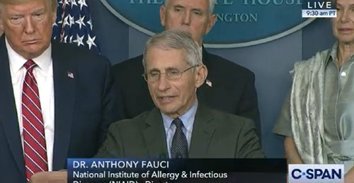 Unreported: Fauci would prescribe Chloroquine to coronavirus patients