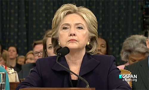 Hillary: 'I'm most innocent person in America'