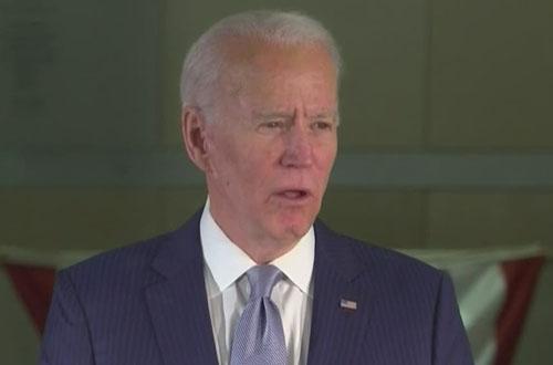 Biden says he'll hold 'shadow' coronavirus briefings