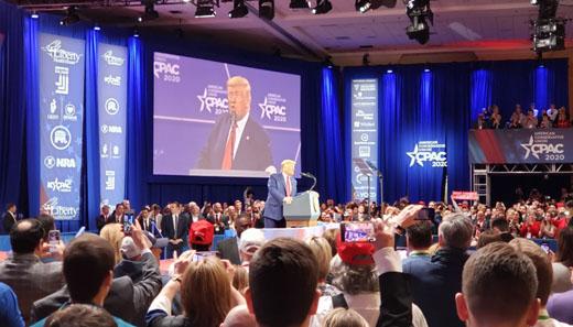 'America vs Socialism': Trump mocks Democrats, hails Afghan deal at CPAC