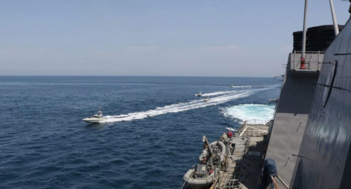 President Trump orders Navy to destroy Iranian gunboats that harass U.S. ships