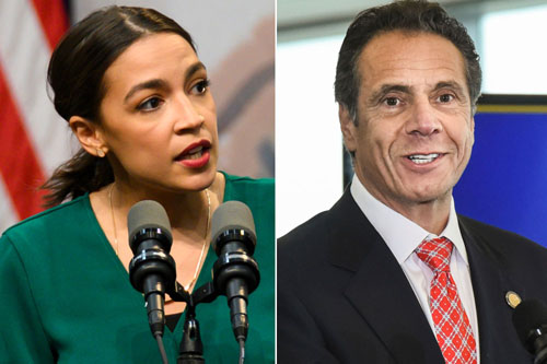 AOC: Don't go back to work; Cuomo: Get an 'essential' job
