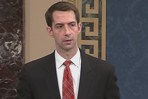 Attorney: Corporate media owe Sen. Tom Cotton an apology