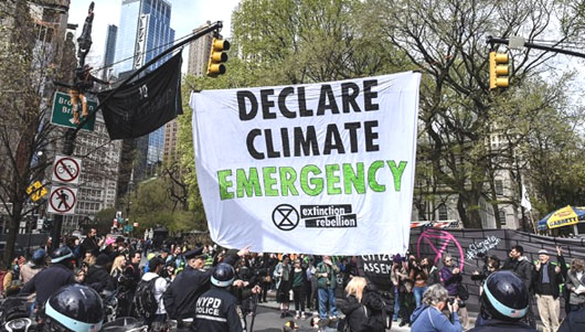 From virus-police state to climate-police state: Activists have seen the future
