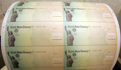 Treasury secretary had idea to put president's name on coronavirus relief checks