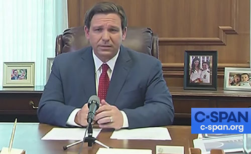 Florida Gov. DeSantis: 'Essential' churches play important role 'in times like this'