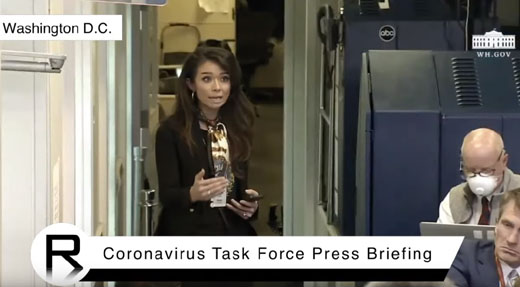 White House press corps seeks to silence Asian American correspondent