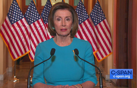 Pelosi to keep Congress closed, warns Trump against re-starting economy