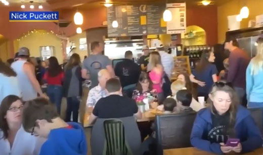 National trend of defiance: Colorado governor padlocks restaurant after Mother's Day open