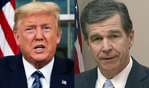 Trump may move GOP convention if NC governor doesn't relent