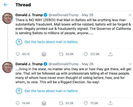 TWEXIT: Twitter fact-checks Trump, sparks revolution
